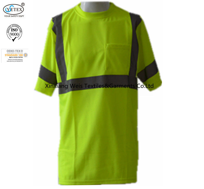 Hi Vis Fr 	Fire Retardant Shirts For Man With Reflector Protective 220gsm