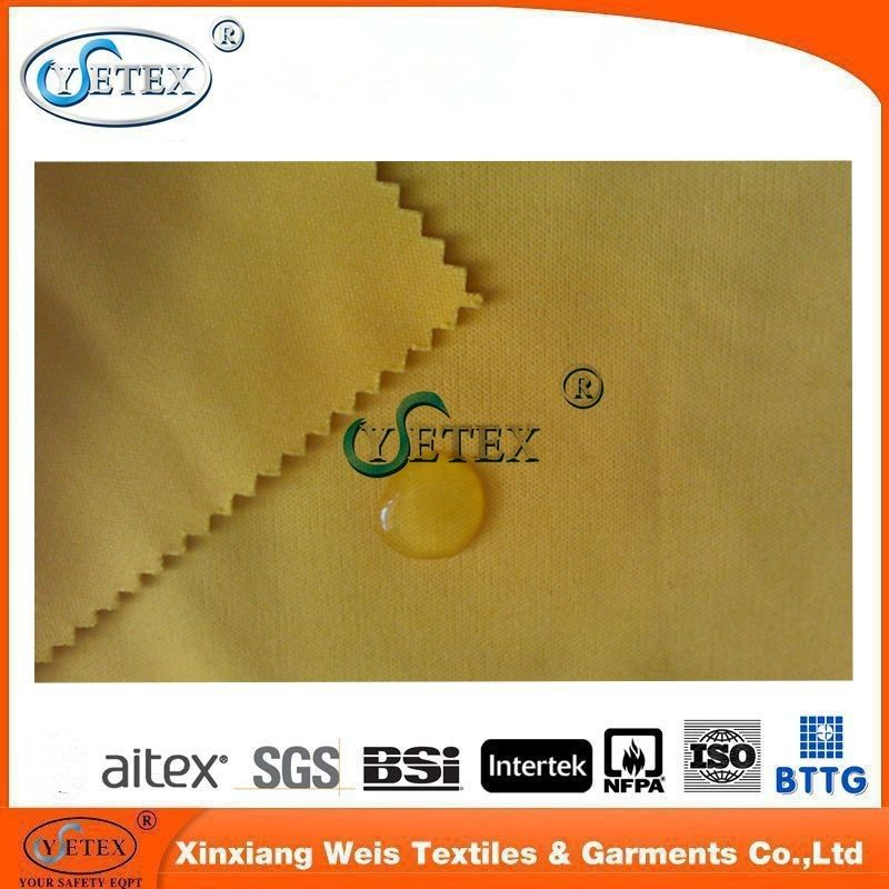Cotton Knitted Heat Resistant Waterproof Fabric For Protective Clothing